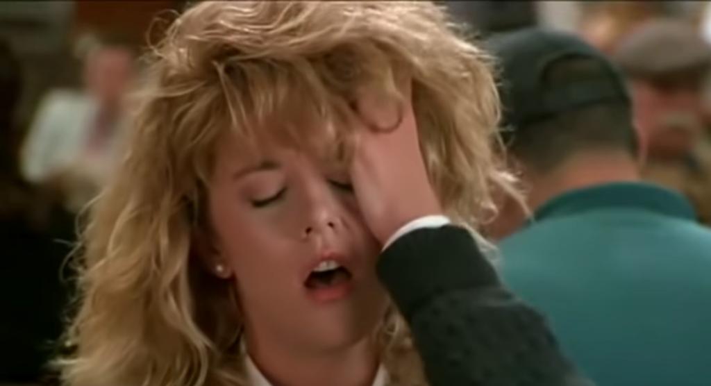 Meg Ryan's fake orgasm dildos