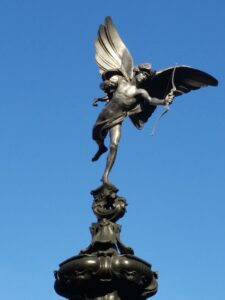 Eros,the Greek god of love and sex