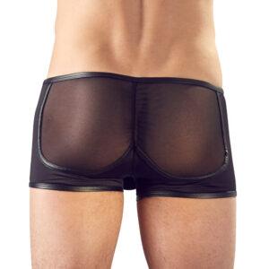 Svenjoyment Contour Effect Black See Through Pants