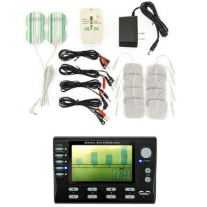 Rimba Electro Stimulation Power Box Set With LCD Display