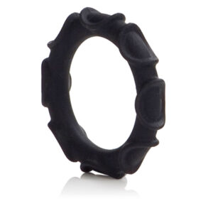 Atlas Silicone Cock Ring Black